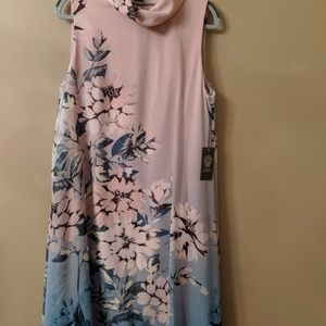NWT Pink and Blue Cocktail Dress